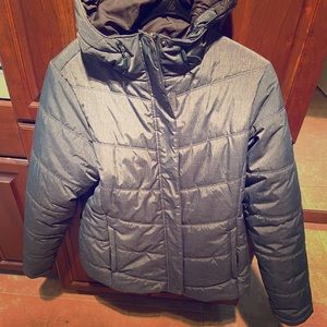 Columbia coat size large. Slate blue.